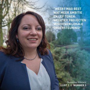 Suzanne-Winters, Economie, Wonen, Weert, verkiezingen, lokaal, verkiezingsprogramma, Economie, wonen