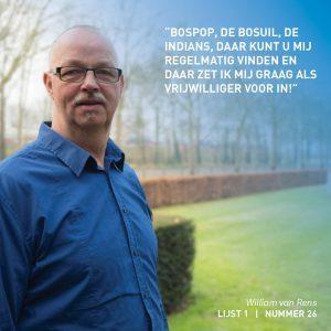 William van Rens, Weert, verkiezingen, lokaal, verkiezingsprogramma,