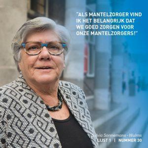 Sylvia Sonnemans-Wulms, Zorg, Participatie, Weert, verkiezingen, lokaal, verkiezingsprogramma,