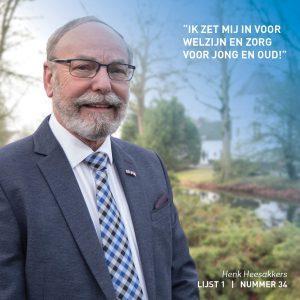 Henk Heesakkers, Leefbaarheid, Weert, verkiezingen, lokaal, verkiezingsprogramma,